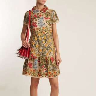 BN Authentic Red Valentino Full Embroidery Dress