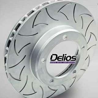 NISSAN Qashgai Sport Brake Rotor - DELIOS