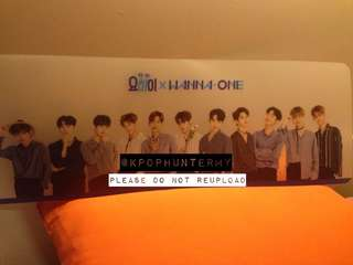 [LIMITED EDITION] Official Yo-Hi x Wanna One Semi-Transparent Banner