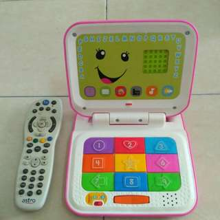 FISHER PRICE ABC LAPTOP