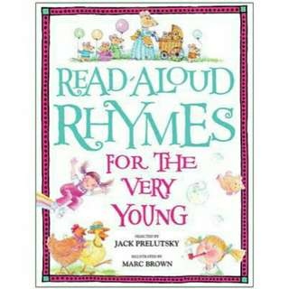 ☺ [ Brand New ] Read-Aloud Rhymes for the Very Young  By: Jack Prelutsky, Marc Brown (Illustrator)  Paperback