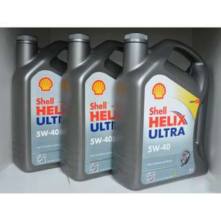 Shell Helix 5W40 Car Servicing $70