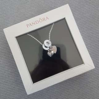 "Pandora ""I want to travel with you"" pendant"
