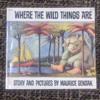Where The Wild Things Are - Maurice Sendak (paperback)