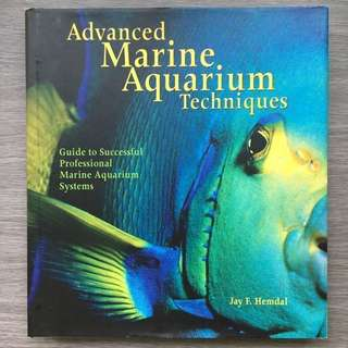 Advance Reef and Marine Fish Coral Aquarium Tank Book New Condition!