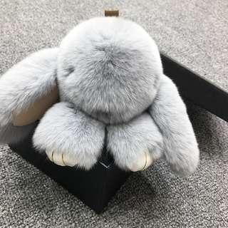 Bunny Charm - Light Grey 18CM