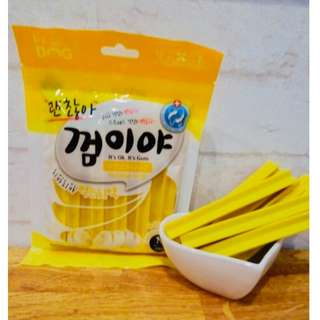 *狗癮*韓國Ocean純天然寵物潔牙骨(香蕉) 共有三種口味 1包100g