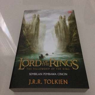 Novel the lord of the rings #umntv2018