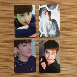[WTT/WTS]Official Exo and got7 photocard