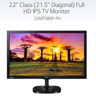 "全新 LG 22MT58 22"" LED TV Full HD"