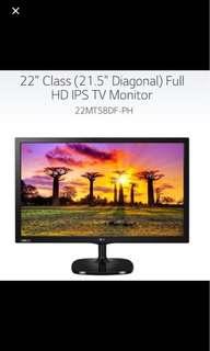 """全新 LG 22MT58 22"""" Full HD IPS TV Monitor"""