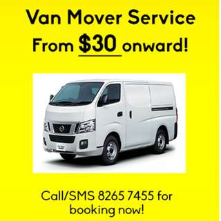 Van Mover Services