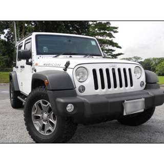 JEEP WRANGLER UNLIMITED RUBICON 3.6 AT 4WD