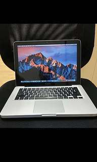 Apple Macbook Aluminum Unibody 13-inch