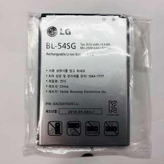 原裝正貨 LG Optimus G2 F320L F320S F320K BL-54SG 韓版原裝電池 2610 Mah battery 充電池 包郵