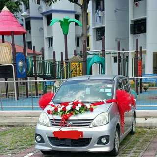 Decoration car