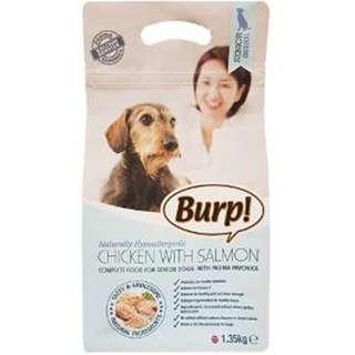 Burp Dry Dog Food for Seniors