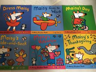 Maisy Readers with stickers
