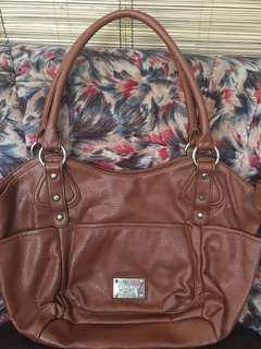 Auth Nine west Large shoulder Bag