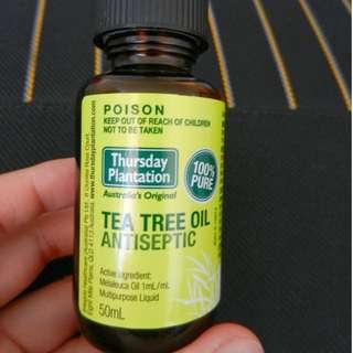 澳洲代購Thursday Plantation Tea Tree Oil 星期四農莊茶樹精油50ml