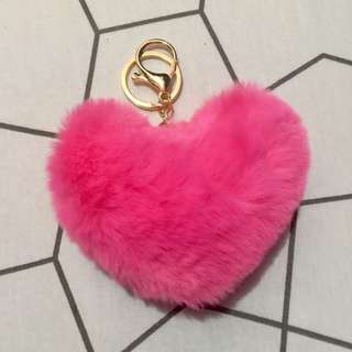 HEART FURBALL(Pusha pink)