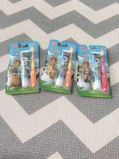 Kodomo 6+ toothbrush set