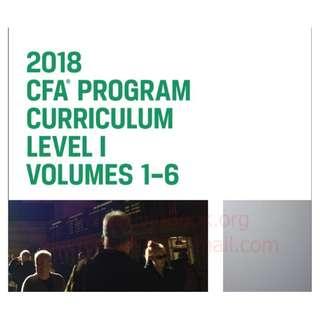 CFA 2018 Level 1 Textbook notes Volume 1-6 PDF