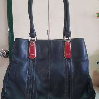 Tignanello black shoulder or handbag