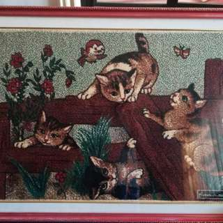 Framed wall decor (Negotiable price)