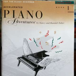 Accelerated Piano Adventures (Older beginner)