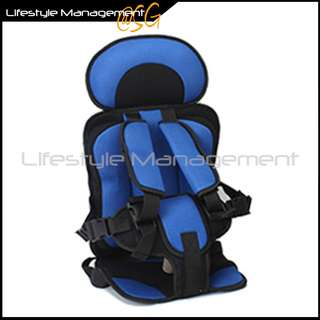 Portable Children/Child/Kid/Kids Safety/Safe Car Cushioned/Cushion Belt Seat (Not For Infant/Baby)