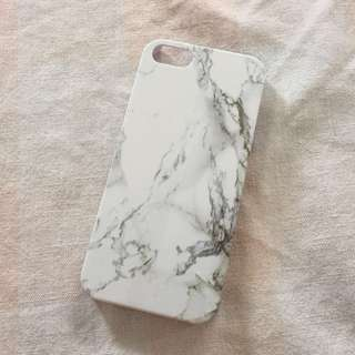 NEW IPHONE 5/5S/SE MARBLE CASE