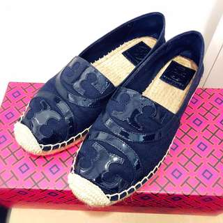 95% NEW 100% REAL Tory Burch Fleming Espadrille 草鞋 size: UK4.5/US6.5/EU37/JP23.5