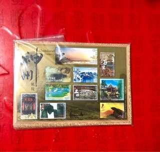香港神州郵票小版張