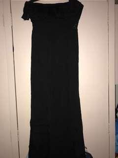 Long dress (tube type)