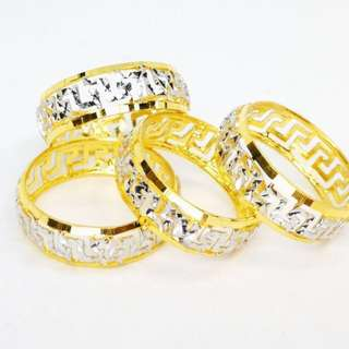 [PO] 916 Gold Gucci Cembung Ring