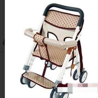 可推式機車椅