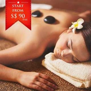 2D1N Batam Stone Massage
