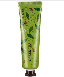 30ml Nature Republic Hand Cream - Green Tea