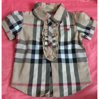 Baby Shirt Burberry
