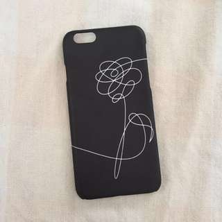 BTS LOVE YOURSELF NEW IPHONE 6/6S Phone Case (Black)