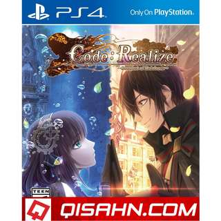 PS4 Code Realize Bouquet of Rainbow