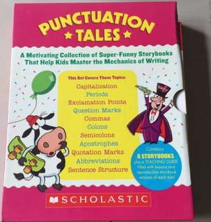Scholastic Punctuation Tales (8 Story Books)