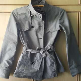 MNG military grey suit