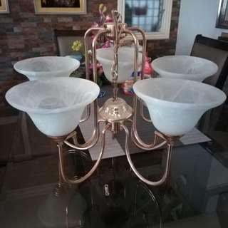 Petal like chandelier (negotiable price)
