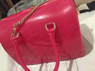 Furla Candy Bag 100%real 99%New Large Size