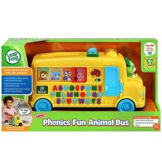 BNIB: LeapFrog Alphabet Phonics Bus