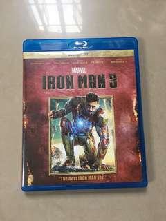 Iron Man 3 Blue Ray