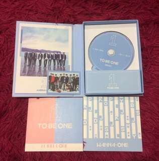 Wanna one to be one sky unsealed album