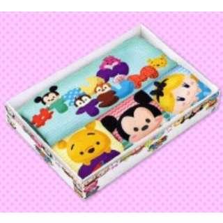 Disney Tsum Tsum 4pc premiums towel gift set